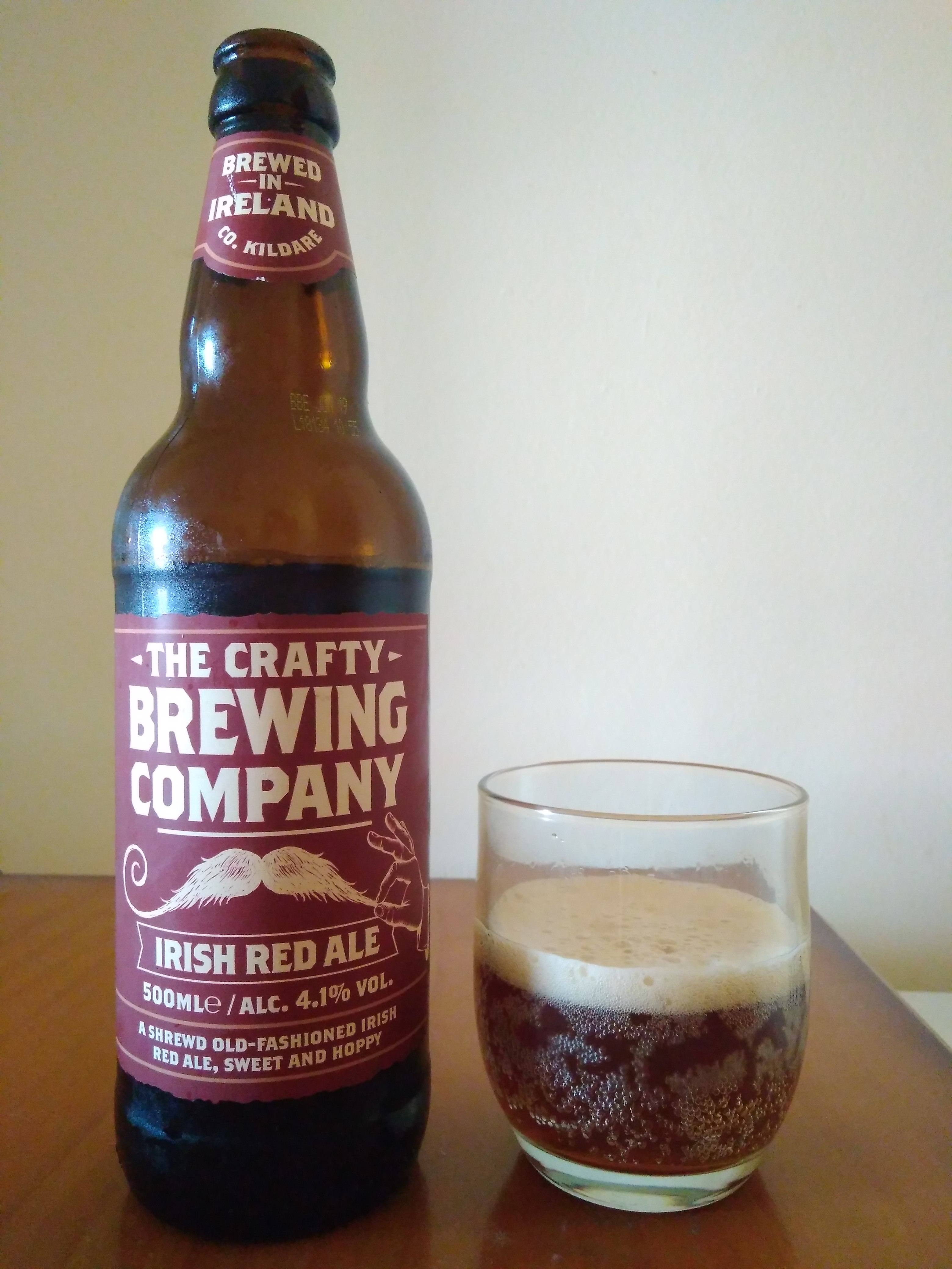 The Crafty Brewing Company Red Ale